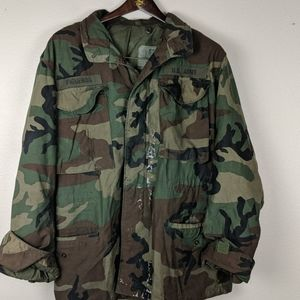 Army distressed jacket size small I can ca…